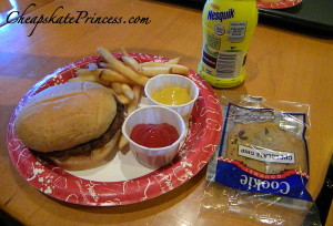 Disney kids meal, order the Disney kids meal, kids meals save money