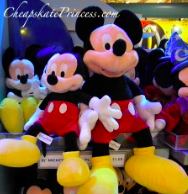 Cost Of Mickey And Minnie Dolls At Disney World Disney S