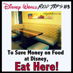 Disney World Food Tip #7: Eat Breakfast Here!