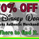 70% Off Disney Parks Authentic Merchandise? Cheapskate Bargains Galore!