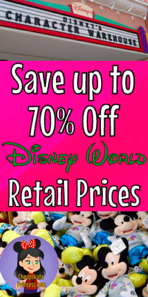 Character Warehouse, Disney discounts,