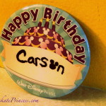 Why Celebrate with a Birthday Button at Disney World? Let a Cheapskate Princess Tell You!