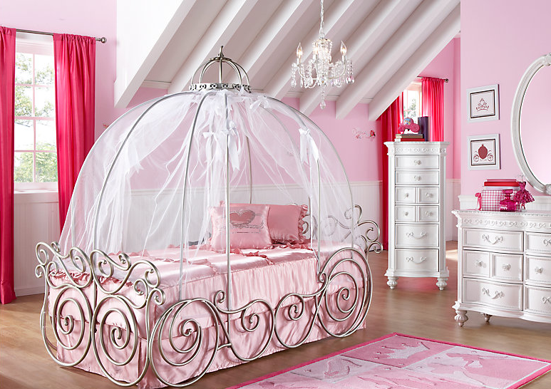 Disney Princess Bed, Disney Princess Bedroom, Live Like A Disney Princess,  How Much