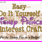 12 Disney Craft Ideas from Pinterest for the Disney Princess on a Budget!