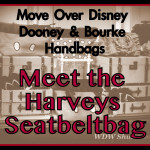 Move Over Disney Dooney & Bourke: Make Way for the Harveys Disney Seatbeltbag