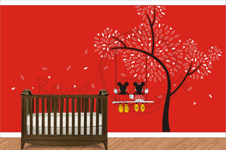 Decorate A Baby S Room With Disney Mickey Mouse Decorations