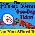 Can You Afford a Disney World 1- Day Ticket?