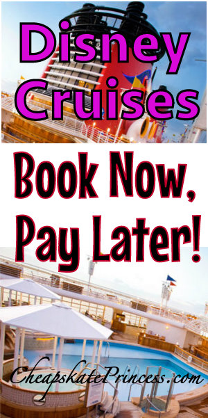 A disney cruise book it now and pay it off later for Book flight online and pay later