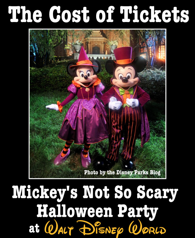 Buy Tickets For Mickey's Not So Scary Halloween Party