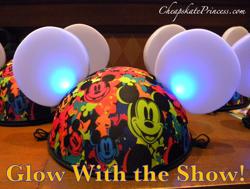 Disney S Glow With The Show Hats A Cheapskate Princess