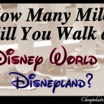 Walking Miles & Miles at Disney Theme Parks: A Cheapskate Princess Guide
