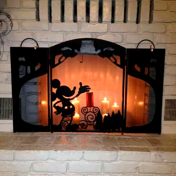 Mickey Mouse Disney Fire Screen