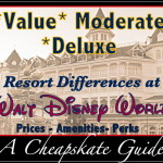 Differences in the Disney World Resort Levels: A Cheapskate Guide