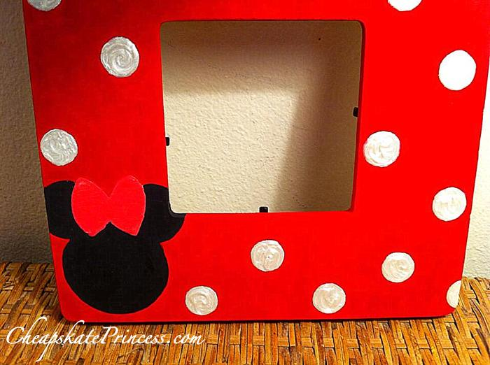 make a Minnie Mouse handmade picture frame - Disney\'s Cheapskate ...
