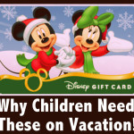 Going to Disney? Got Kids? Get 'em Gift Cards!