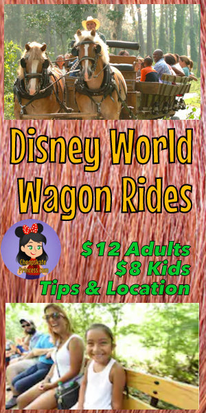 wagon ride prices at Disney World