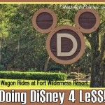 Disney World 4 Le$$: Wagon Rides Under $10