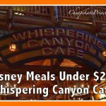 Best Disney World Meals Under $20: Whispering Canyon Cafe Breakfast