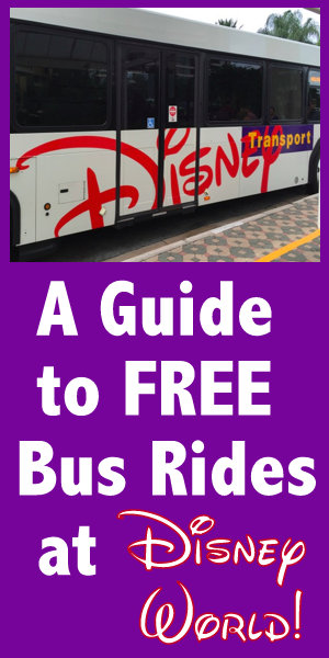 Disney World bus guide, tips for Disney Resort busses