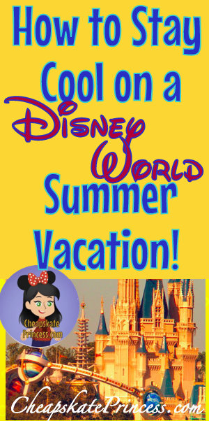summer in Orlando, Disney World in the summer
