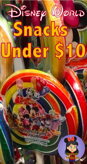 snacks at Disney World, save money at Disney World