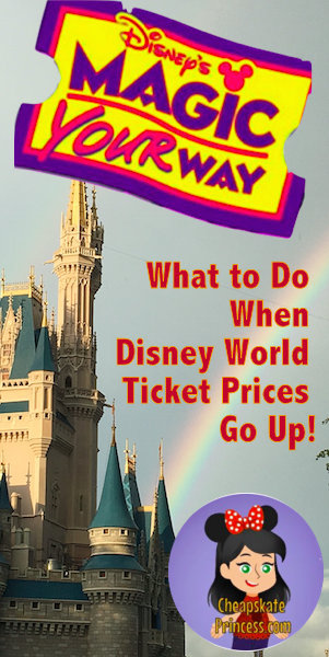 Disney tickets, Disney World, plan a Disney vacation