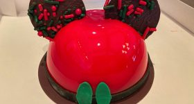 Mickey Mousse dessert at Disney Springs