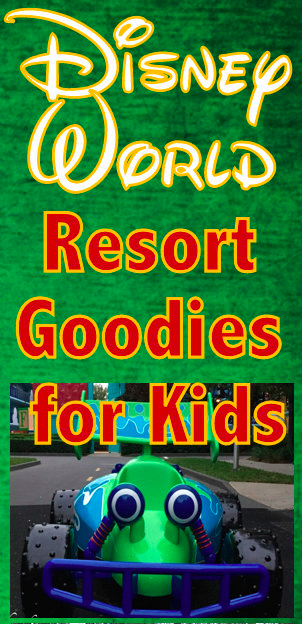 things to do at Disney World resorts with kids