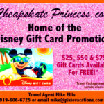 Who Wants a FREE Disney Gift Card?!