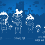 Get a Custom Disney Parks Decal for FREE!