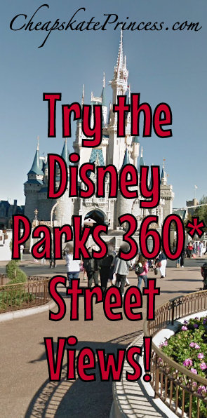 Disney parks launches first ever 360 degree panoramas on google savesave gumiabroncs Image collections