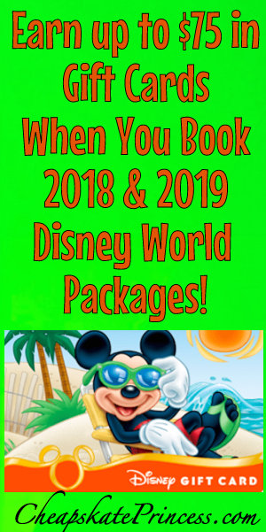 Book A 2019 Disney World Vacation And Earn Up To 75 In