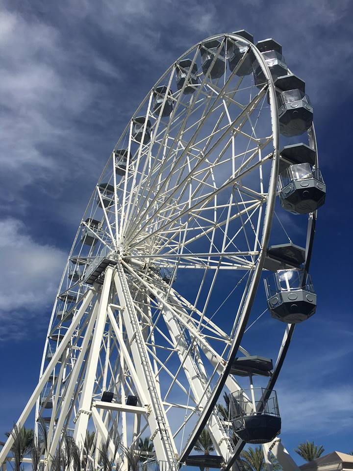 Ferris Wheel in Orange Beach Alabama at the Wharf