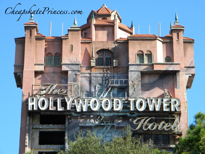 Tower of Terror at Disney World Hollywood Studios