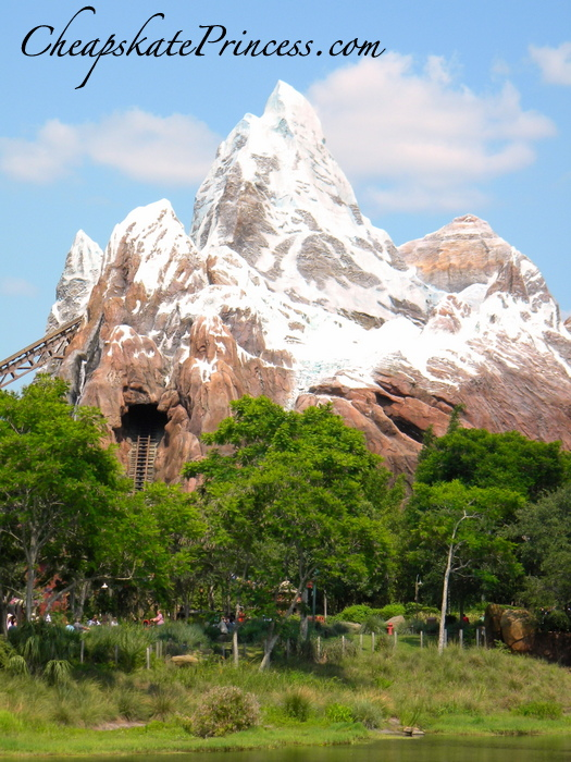 Expedition Everest Ride at Hollywood Studios