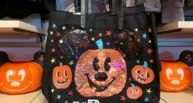 Disney sparkle Halloween bag for kids