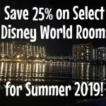 Announcing Disney World Room Discounts for Summer 2019!