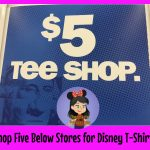 Visit Five Below Stores for $5 Disney Themed T-shirts