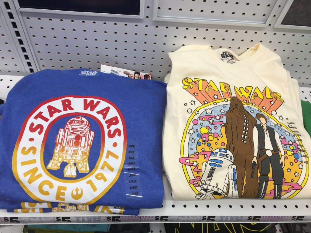 Star Wars shirts for a Disney vacation