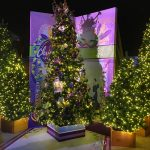 Visit the Disney Springs Christmas Tree Trail